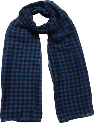 Mesmerize Checkered cotton Women's Stole