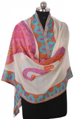 TheAmritsarStore Printed Woolen Women's Scarf