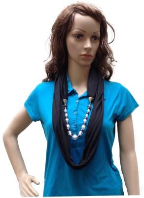 Grace Fashion Villa Solid cotton Hozri Women's Scarf