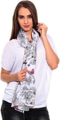 illuminati lifestyle Geometric Print 100 % Cotton Women's Scarf