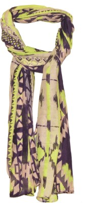 Crunchy Fashion Graphic Print polyster Women,s Scarf
