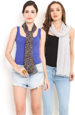 Trend Arrest Printed Polyester Women's Scarf