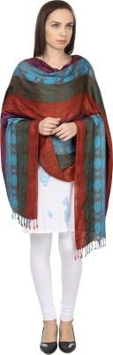 NEHANCHAL Striped Viscose Women's Stole