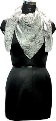 Selfiwear Printed 100% Pure Silk Women's Scarf