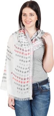 Shyam & Co. Of North Pvt. Ltd. Woven 50% Modal, 45% Cotton, 5% Cashmere Women's Scarf