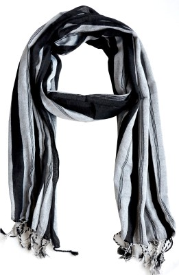 Aarti Collections Striped Cotton Women's Stole