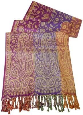 Navaksha Self Design Viscose Women's Stole