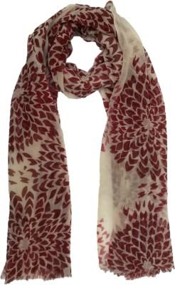 Garapa Floral Print Wool Women,s