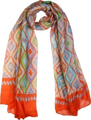 20Dresses Printed Polyester, Viscose Blend Women's Scarf