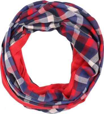 IRACC Checkered Cotton Yarn Dyed Men's Scarf