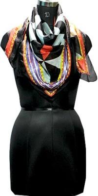 Selfiwear Embellished 100% Pure Silk Women's Scarf