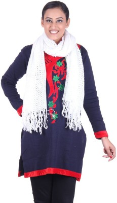 Belmarsh Solid Cotton Blend Women's Stole