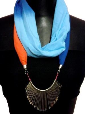 MyClosetNMore Solid, Embellished Cotton Blend Women's Scarf