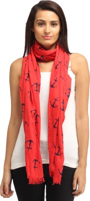 Needlecrest Printed Cotton Voile Women's Scarf