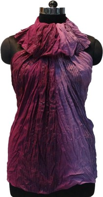 Otua Solid Cotton Lurex Women's Scarf