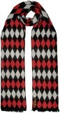 Tiekart Checkered Viscose Men's Scarf