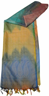 Saffron Craft Self Design Brocade Art Silk Women's Stole