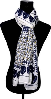 VP London Floral Print Viscose Women's Scarf