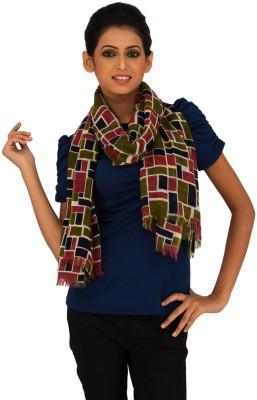 Moda Vastra Checkered Wool Women,s