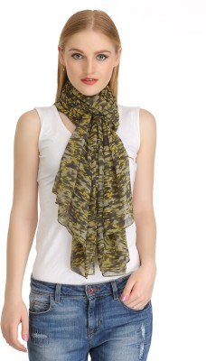 COOL THREADS Printed POLY CHIFFON Women's Scarf