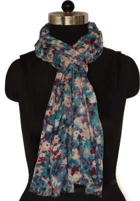 Envoy Floral Print Polyester Women's Scarf