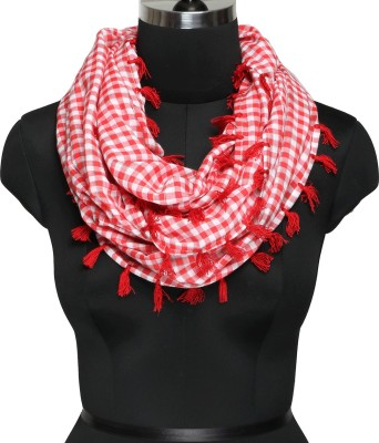 IR Acc Checkered Cotton Women's Scarf