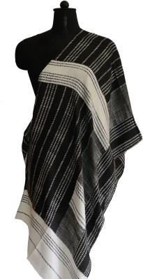 Jupi Striped, Polka Print Polyester Women's Stole