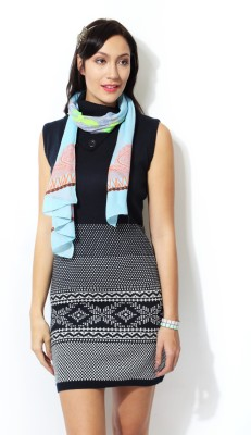 People Solid 100% Acrylic Women's Scarf