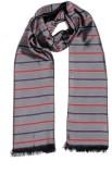Tiekart Striped Silk Men's Scarf