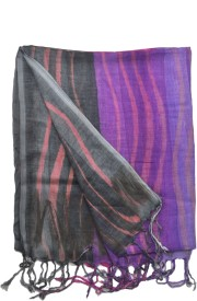 The Vatican Striped Cotton Women's Stole