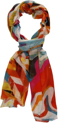 Toscee Printed 90%Modal10%Cashmere Women,s