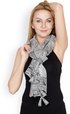 Famous by Payal Kapoor Printed Georgette Women's Scarf