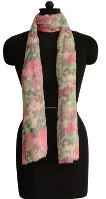 Jupi Floral Print Polyester Women's Stole