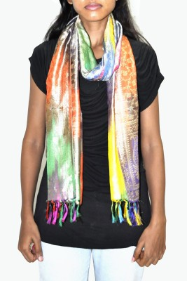 Lal Haveli Printed Silk Girl's Stole