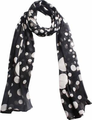 DIVAS CHOICE Polka Print polyester Women's Stole