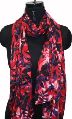 Neeshaan Printed Polyster Cotton Mix Women's Scarf