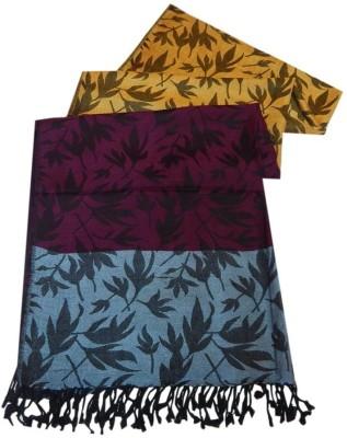 Navaksha Floral Print Viscose Women's Stole