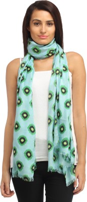 Needlecrest Polka Print Cotton Voile Women's Scarf