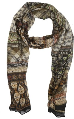 Holidae Printed viscos crepe Women's Scarf
