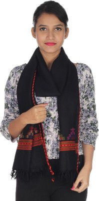 Quetzal Embroidered Wool Women's Stole