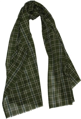 Shawls Of India Checkered Wool Women's Stole
