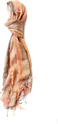 Niv Collection Striped VISCOSE/COTTON Women's Scarf