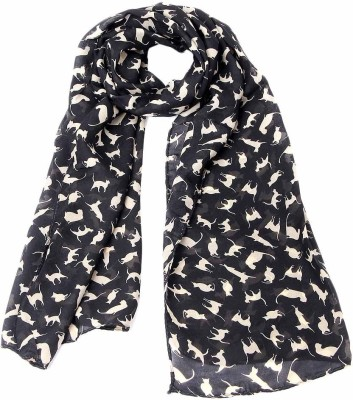 GirlZFashion Printed Chiffon Girl,s, Women's Scarf