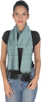 Anekaant Solid Cotton Silk Women's Scarf