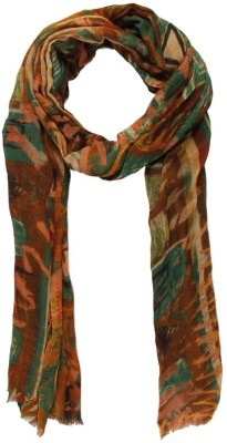 Toscee Printed 50% Wool, 50% Silk Women,s