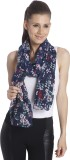 Only Printed 100%Polyester Women's Scarf
