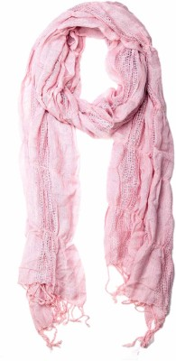 Niv Collection Solid VISCOSE/SQUARE DOBBY Girl's Scarf