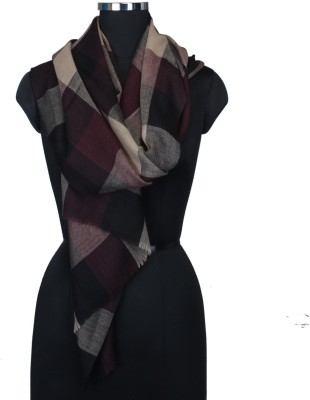 Frore Woven, Checkered Wool Women's Scarf