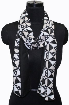 Neeshaan Printed Cotton polyster mix Women's Scarf
