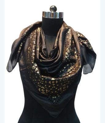 Otua Applique Silk Women's Scarf